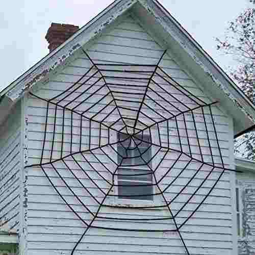 Pawliss halloween decoración tela de araña con telaraña