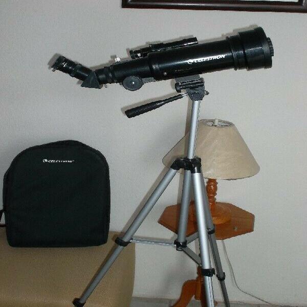 Telescopio portátil celestron travelscope70
