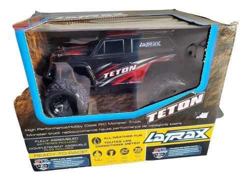 Traxxas latrax teton 1/18 4x4 rtr 35km waterproof azul/negro