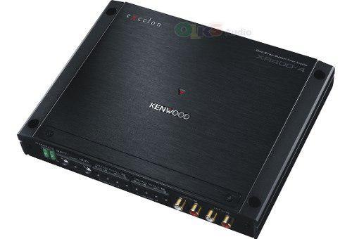 Amplificador de 4 canales clase d kenwood excelon xr400-4