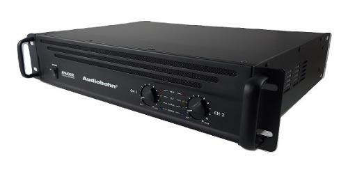 Amplificador de potencia poder 4000 watts audiobahn apa4000e
