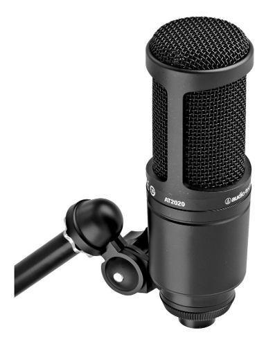 At2020 audiotechnica micrófono de condensador cardioide!!
