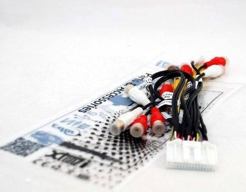 Audio video harness conjunto de cable rca para pioneer avicx