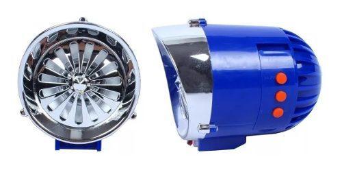 Bocina amplificador alarma moto estereo bluetooth sd fm usb