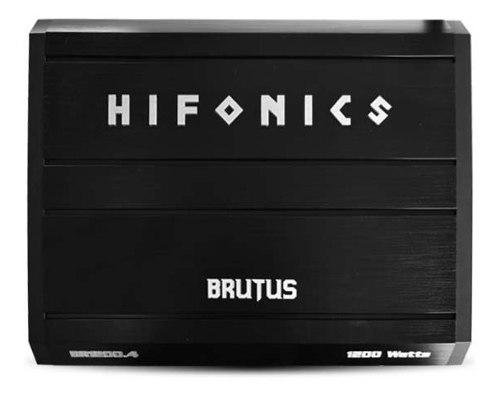 Hifonics brutus br1200.4 clase ab 4 canales 1200w max