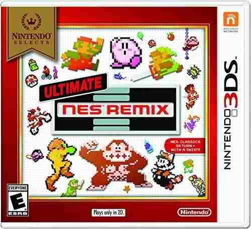Juego ultimate nes remix para nintendo 3ds nuevo y sellado