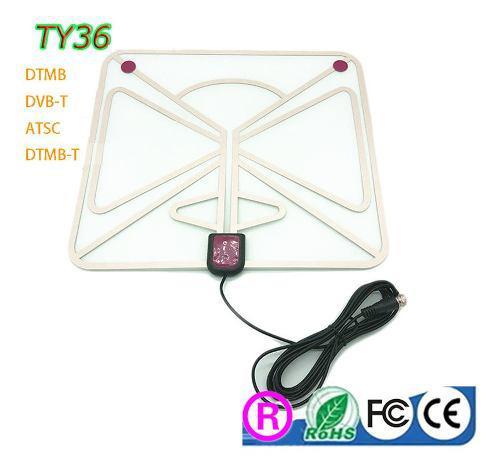 Leroy - antena de tv digital para interior (50 a 80 millas,