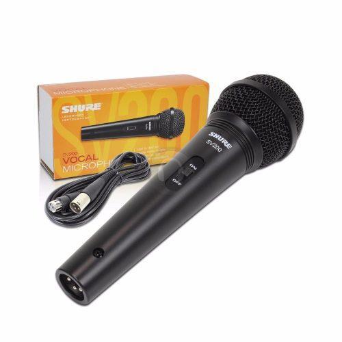 Microfono bobina movil con cable shure sv200 envio gratis