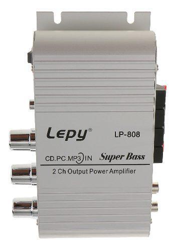 Mini amplificador de audio subwoofer estéreo hi-fi para coc