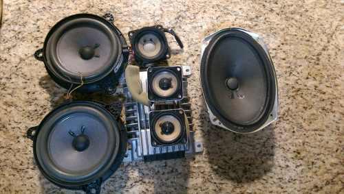 Sistema de bocinas y amplificador bose