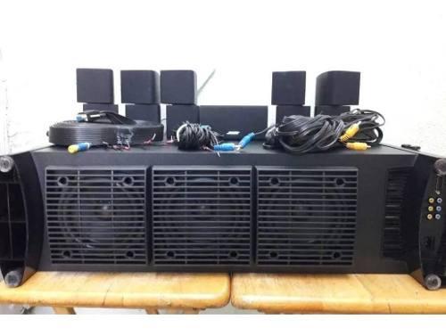 Sistema de sonido 6.1 bose acoustimass + amplificador denon