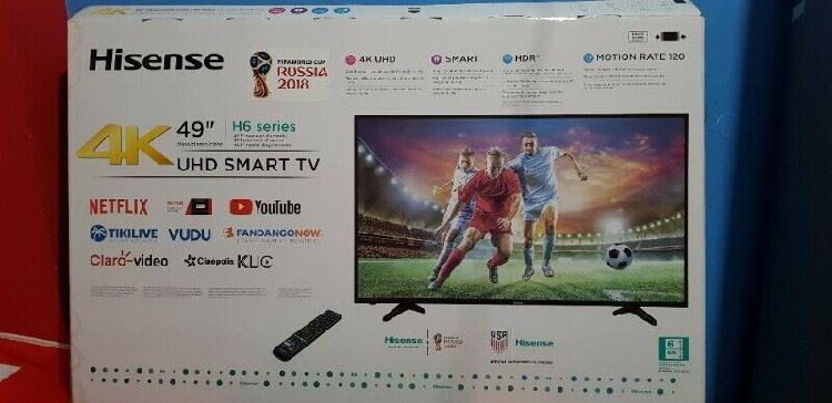 Tv hisense 4k smart tv