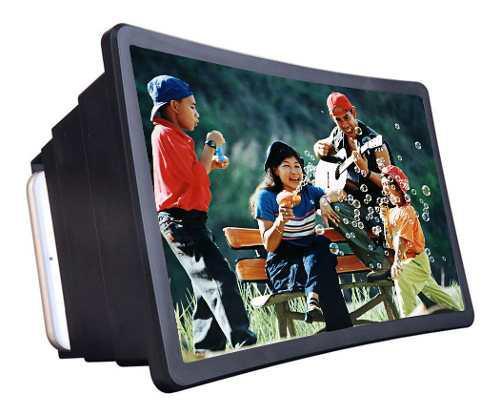 Teléfono móvil pantalla de video lupa amplificador