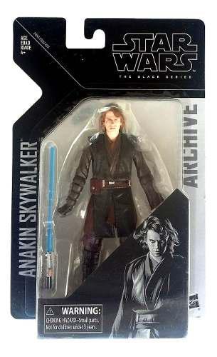 Anakin skywalker star wars black series archive figura hasbr