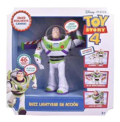 Buzz lightyear en accion 40 frases con luz y sonido