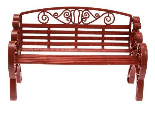 Garden park - silla en miniatura para muebles de casa de