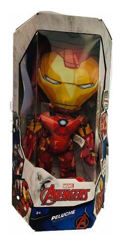 Ironman muñeco electrónico peluche dice frases iron man