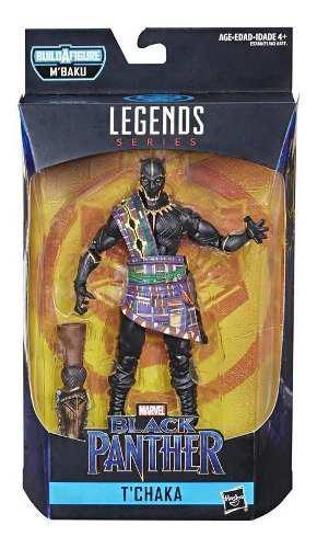 Marvel e5788 figura t'chaka 6 pulgadas black panther marvel