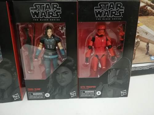 Star wars set 2 figuras (cara dune & sith trooper)