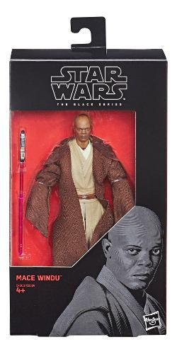 Star wars the black series - figura de mace windu de 15 cm