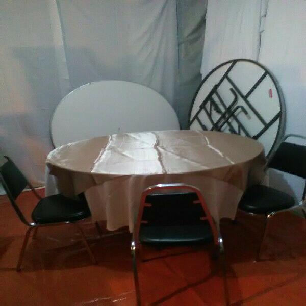 Mesas, sillas, infla bles, capelos, mesas infantiles,