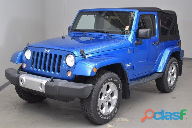 Jeep wrangler sport 2014 azul