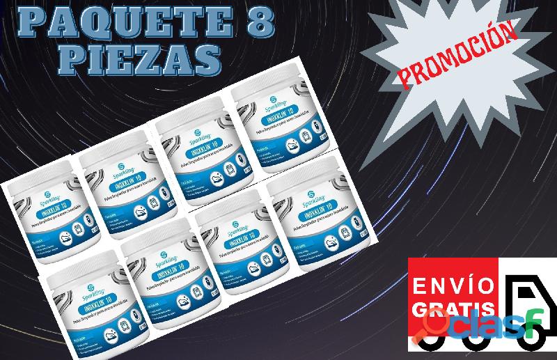 SPARKLING 10 PAQUETE DE 8 PIEZAS CON ENVIO INCLUIDO