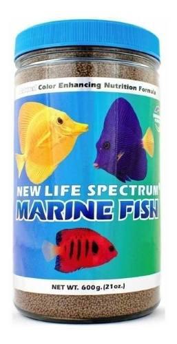 Alimento new life spectrum marine formula pellet 1mm 600 gr