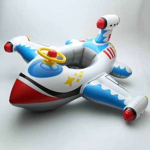 Aviones Inflables Tres Generaciones Infantes Agua Volante Ba