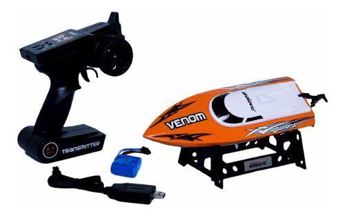 Barco Bote De Carreras Udirc Venom Control Remoto