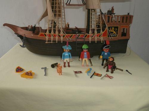 Barco pirata playmobil 3750 de 1978