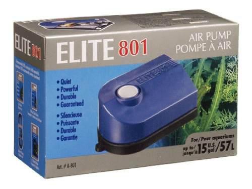 Bomba de aire elite 801 acuario 60 litros