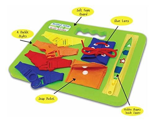 Buckle Toys - Busy Board