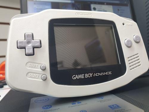 Gameboy Advance Blanco, Estuche Y 1 Juego.