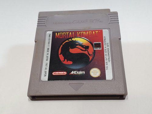 Mortal Kombat Game Boy Original Juegazo En The Next Level!