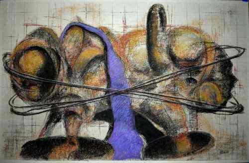 Obra De Arte. Inmanentes. Juan Gonzalez. Jage.artwork