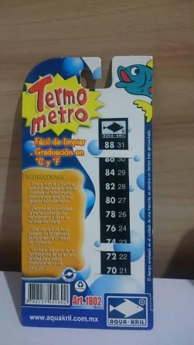 Termometro digital adherible peces pecera