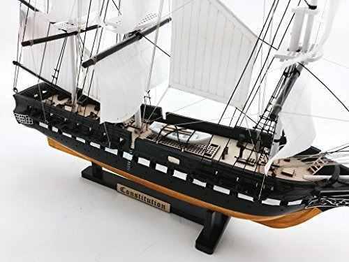 Uss constitution limited - nave decorativa de buque de guerr