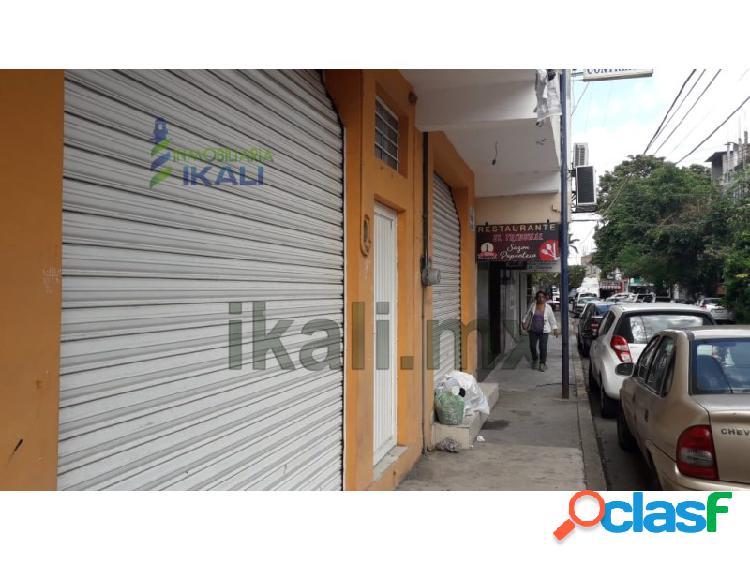 Renta local comercial Col. Tajin Poza Rica Veracruz, Tajin 2