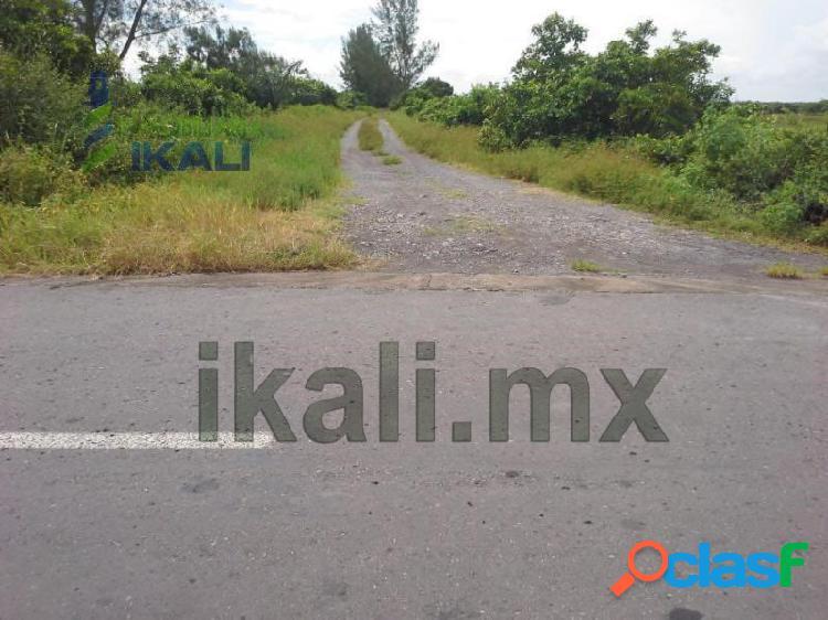Venta lotes campestre 500 m² playa chalchihuecan 1 km de la antigua veracruz, chalchihuecan
