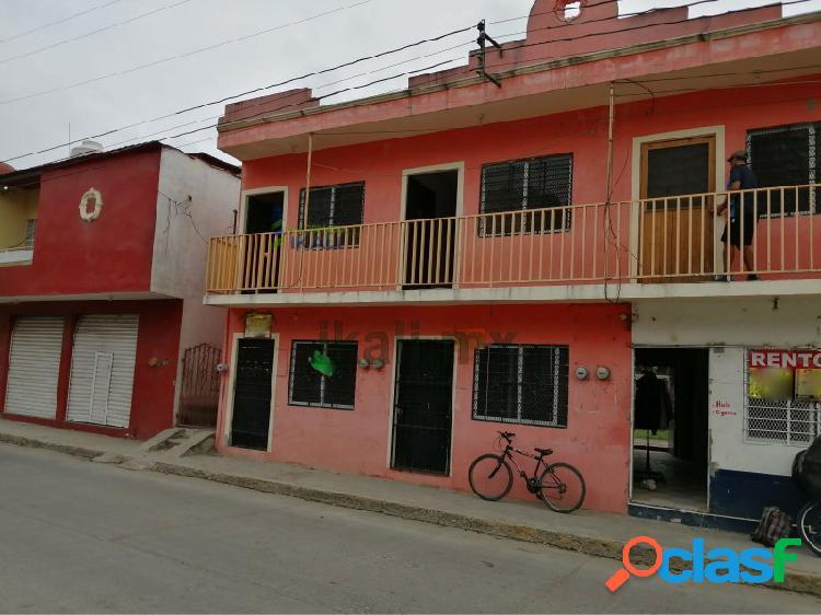 Renta habitación amueblada col. anahuac tuxpan veracruz, anáhuac