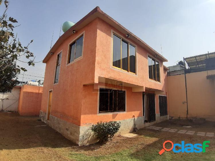 Casa en venta ixtapaluca colonia tlayehuale, casa en venta 480 m2 de superficie 3 recamaras, 195 m2