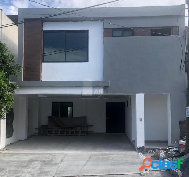 Casa en venta col. del paseo residencial, monterrey, n.l.