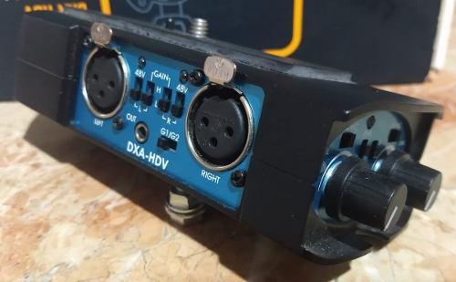 Adaptador de audio para cámara y videocámaras beachtek