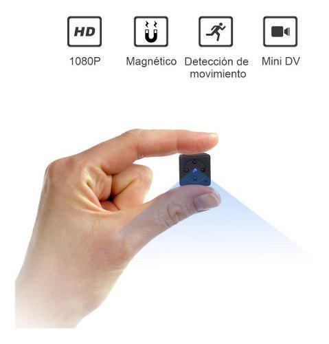 Camara espia videocámara deteccion zzcp mini 1080p hd audio