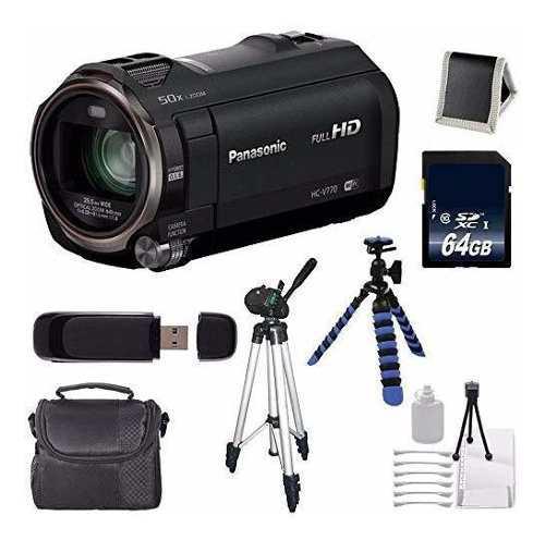 Panasonic hc-v770k - videocámara full hd (7 unidades)