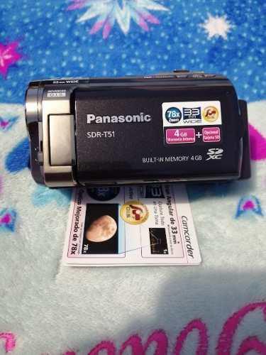 Videocamara panasonic mod sdr-t51