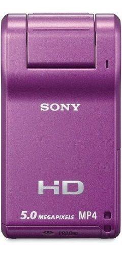 Videocámara hd sony webbie mhspm1 violeta descontinuado por