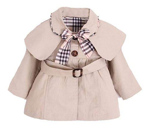 Abrigo para niña hermoso diseño a la moda talla meses