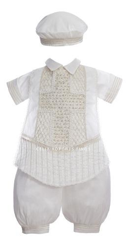Bombacho bautizo niño en shantung mod. 061 f - ropones
